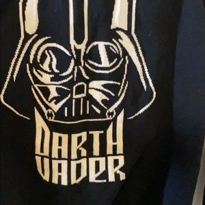 Authentic Star wars Sweater With Darth Vader